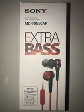 Sony MDR-XB50AP Red