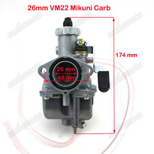 Mikuni VM22 26mm Carburetor For 125cc 140cc Lifan YX Zongshen KLX Pit Dirt Bike