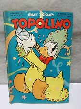Topolino N.24 Vol 4 Février 1951 Excellent + Timbre Walt Disney Mickey Mouse