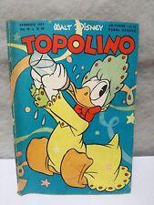 TOPOLINO N. 24 vol 4 FEBRERO 1951 excelente + bollino Walt Disney Mickey Mouse