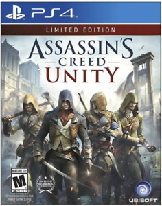 Assassin's Creed: Unity - Limited Edition (Playstation 4 PS4) Good Condition