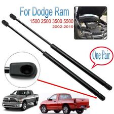 2xFront Hood Lift Supports Shock Struts For Dodge Ram 1500 2500 3500 5500 02-10