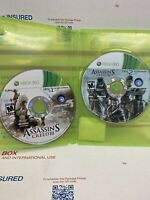 Assassin's Creed III 3 (Microsoft Xbox 360, 2012) Discs Only -Tested & Working
