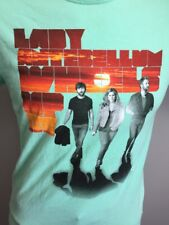Men's Lady Antebellum Concert T Shirt Small 2013 Wheels Up Tour Country Music S