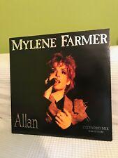 Mylène Farmer - Allan Live (Maxi 45trs) ed 1989 comme neuf