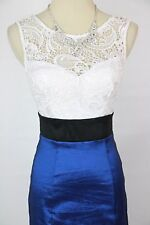 Windsor Formal Prom Evening Junior Full Length Dress Cocktail Size 3 Royal $100