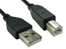 1.8 M USB 2.0 ad Alta Velocità Stampante Cavo Piombo A a B Nero Epson Kodak HP 2 M 6 FT (ca. 1.83 m)