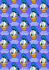Donald Duck Personalised Gift Wrap - Disney's Donald Duck Wrapping Paper