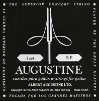Augustine Classic Black - Low Tension - 1 Satz Konzertgitarren-Saiten