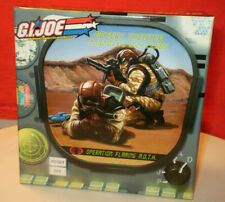 2006 GI JOE COBRA EXCLUSIVE CLUB OPERATION FLAMING MOTH DESERT THEATER MIB RARE
