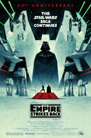 ORIGINAL Star Wars: The Empire Strikes Back 40th Anniversary Poster