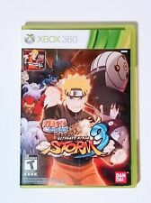 Naruto Shippuden Ultimate Ninja Storm 3 Xbox 360 Complete Card included
