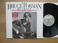The Bruce Forman Quartet – there are times, Ger 1987 LP, VINILE: M -