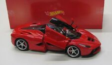 1 18 Hot Wheels Ferrari LaFerrari 2013 Red/black