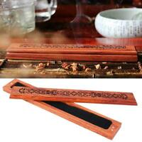Handmade Bamboo Incense Holder Burner Joss Box Stick Holder Home Decor Box