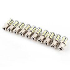 10 DC12V 1156 BA15S 5050 7503 1141 18smd LED Blancas COCHE RV colgante bombilla