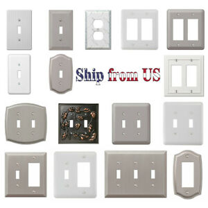 Brush Wall Plate In Electrical Switch Plates Outlet Covers For Sale In Stock Ebay