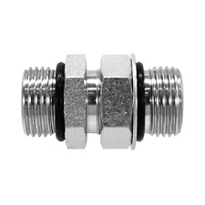 6403nwo 12 10 Hydraulic Fitting 34 Male Boss X 58 Male Boss Swivel 6407