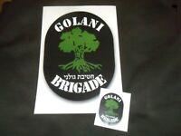Idf Zahal Golani Brigade Large Paper Sticker Symbol logo Insignia Israeli Army