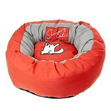 Liquidación cuna Simons cama cojin gato perro 46cm X 17cm color rojo Simon's Cat
