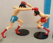 Rocky Joe Ashita no Tohru Rikiishi Anime Figure Japan gashapon size Set 2 pezzi