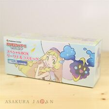 Pokemon Center Card Game Sun & Moon Special BOX Lillie & Cosmog ver sleeves