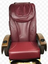 Pedicure Back Massage Seat Cover with Front Chin Burgundy…