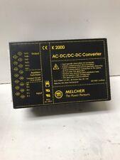 Melcher K 2000 AC-DC/DC-DC Converter