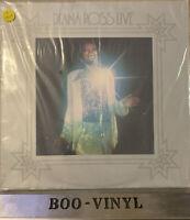 "SEALED -Diana Ross Live 1974 Vinyl Record 12"" LP Album 1970s Tamla Motown Soul"