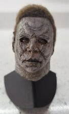 MICHAEL MYERS 1/6 HEAD SCULPT BY ONESCUSTOMS H40 WEATHERED 9 OF 10 NOT HOT TOYS