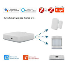 Tuya Zigbee Smart Security System Alarm Sensor Gateway Hub Home Automation Set