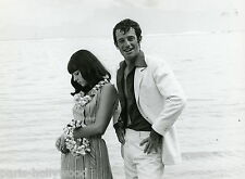 JEAN-PAUL BELMONDO STEFANIA SANDRELLI TENDRE VOYOU 1966  PHOTO ANCIENNE N°2