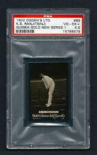 PSA 4.5 RANJITSINHJI Cricket Card 1902 OGDEN GUINEA GOLD CIGARETTES #B9