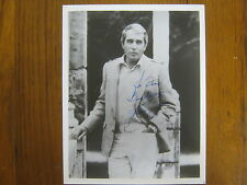 PERRY COMO (Died in 2001)  TV Singing Legend Signed  8 X 10   B & W Glossy Photo