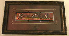 2007 Disney Disneyland Pirates of the Caribbean Framed Gift Card Set LE Limited
