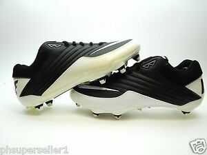 NIKE SUPER SPEED WHITE BLACK MEN SHOES SIZE 12.5 NEW WITH DEFECTS