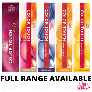 Wella Color Touch - Full Range - Plus, Sunlights, Relights, Special Mix 60ml