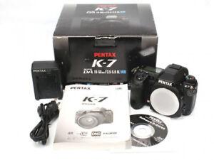 Pentax K-7 Digital SLR Camera Body - Black