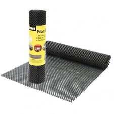 Rolson Negro Antideslizante Alfombra Antideslizante Buen Agarre el amortiguador Casa Coche lugar de trabajo 1.5M
