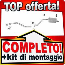 Scarico Completo FIAT PANDA I (141) 1000 1.0 45CV 1992-2003 Marmitta 639