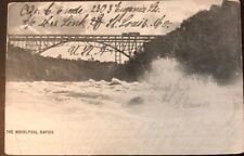 Vintage Postcard - Whirpool Rapids, Niagara Falls, New York - Used 1903