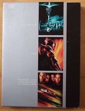 3 DVD The Fast And Furious,Pitch Black,XXX
