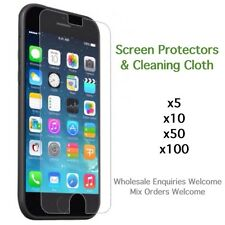 iPhone 6 6s screen protectors standard or tempered glass with cloth wholesale
