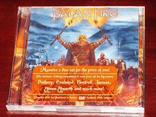 Pagan Fire CD + DVD Set 2008 Bathory, Enslaved, Unleashed, Amon Amarth, Tyr NEW