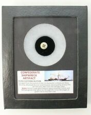 Authentic Confederate Shipwreck Artifact - Glass Clothing Button