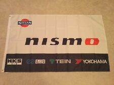 Nissan Nismo Skyline Silvia GTR Micra Almera GTI garage workshop flag banner