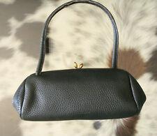 Original GOLDPFEIL Ledertasche Leder Tasche Abendtasche Vintage !