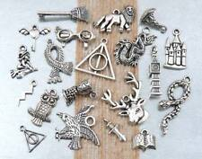 20 HARRY POTTER Theme Tibetan Silver Charm Collection Assorted Set Lot