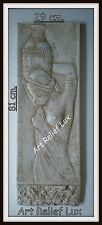 Stucco Eine Frau mit einem Krug Stuck gips Griechische Griechischen Relief Greek
