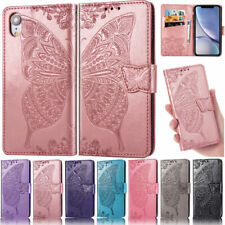 Butterfly Wallet Leather Flip Cover Case For iPhone 11 Pro X XR XS Max 7 8 Plus
